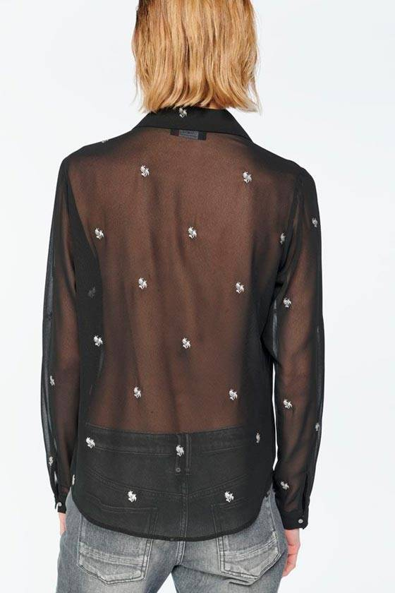 Camisa RUSSELL negre